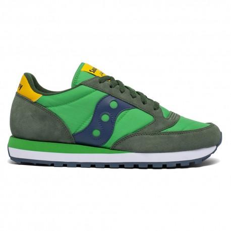 Saucony Sneakers Jazz O Verde Blu Uomo