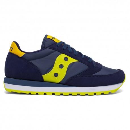 Saucony Sneakers Jazz O Blu Lime Uomo