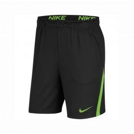 Nike Shorts Sportivi Nk Dry Nero Verde Uomo