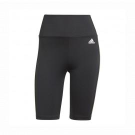 ADIDAS ciclisti shorts 3stripes nero donna