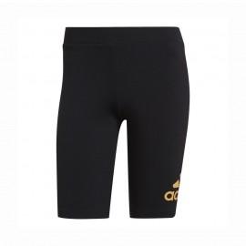 ADIDAS ciclisti shorts logo nero donna