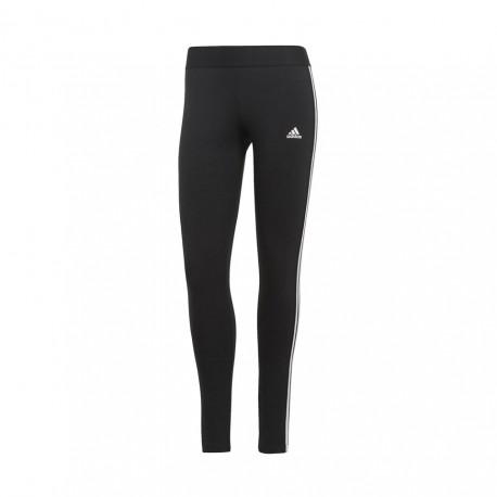ADIDAS leggings sportivi 3stripes nero donna
