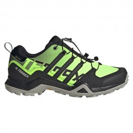 ADIDAS scarpe trail running terrex swift r2 gtx lime uomo