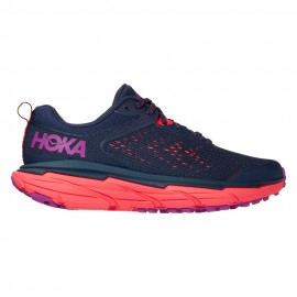 Hoka Scarpe Trail Running Challenger Atr 6 Blu Rosa Donna