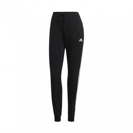 ADIDAS pantalone palestra 3stripes nero donna