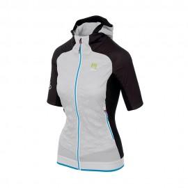 Karpos T-Shirt Alpinismo Alagna Plus Evo Bianco Nero Donna