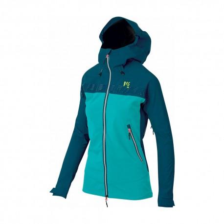 Karpos Giacca Alpinismo Jorasses Plus Gtx Azzurro Blu Donna