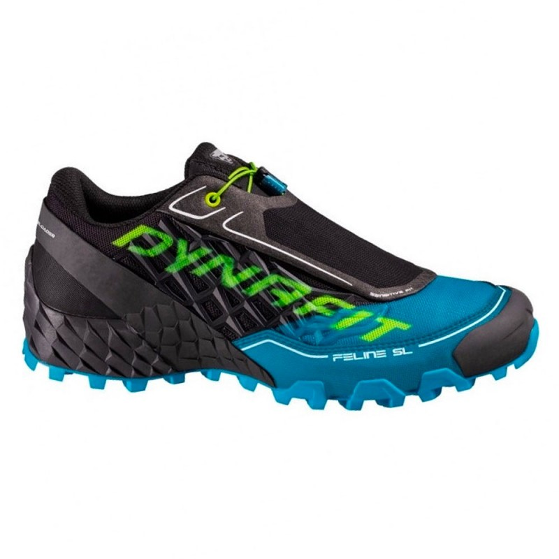 Dynafit Scarpe Trail Running Feline Sl Nero Blu Uomo