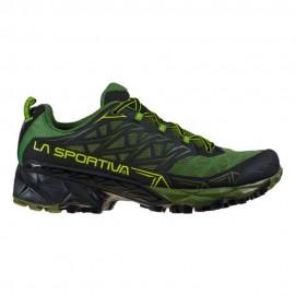 La Sportiva Scarpe Trail Running Akyra Verde Nero Uomo