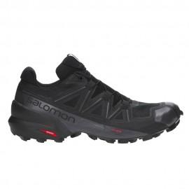Salomon Scarpe Trail Running Speedcross 5 Nero  Uomo