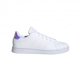 ADIDAS sneakers advantage k bianco grigio bambina