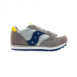 Saucony Sneakers Jazz Original Laccio Grigio Blu Bambino