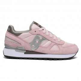 Saucony Sneakers Shadow O Rosa Bianco Donna