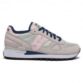 Saucony Sneakers Shadow O Grigio Rosa Donna