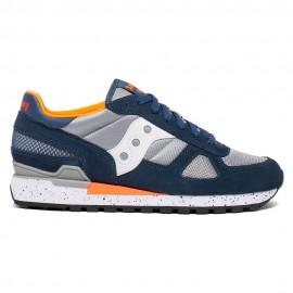 Saucony Sneakers Shado O Grigio Bianco Uomo