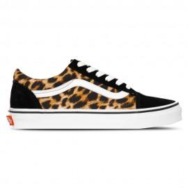 Vans Sneakers Old Skool Leopardato Nero Unisex
