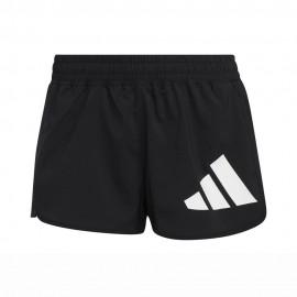 ADIDAS shorts sportivi bianco nero donna