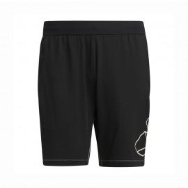 ADIDAS shorts sportivi hype nero uomo
