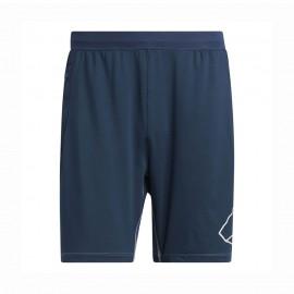 ADIDAS shorts sportivi hype verde uomo