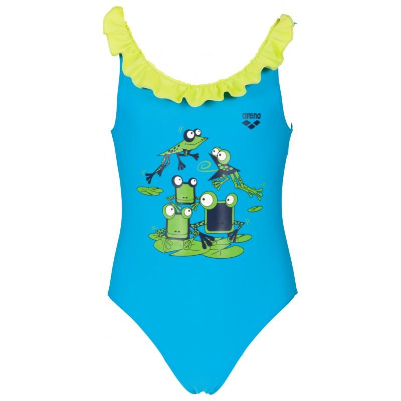 Arena costume carinho azzurro bambina 2a01686 acquista for Arena costumi piscina
