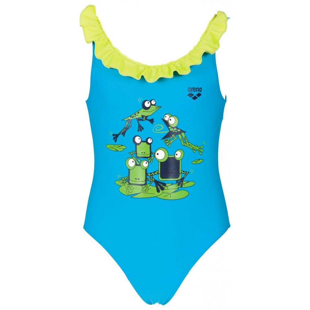Arena costume carinho azzurro bambina 2a01686 acquista - Costumi piscina arena ...