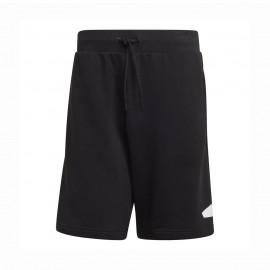 ADIDAS shorts sportivi logo nero uomo