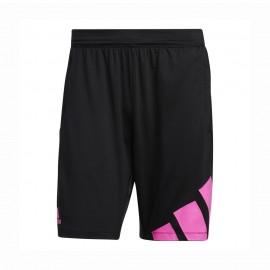 ADIDAS shorts sportivi nero uomo