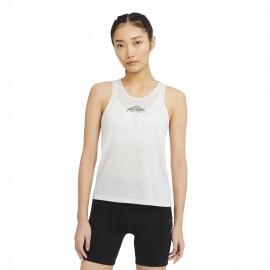 Nike Canotta Trail Running Nk City Sleek Grigio Donna