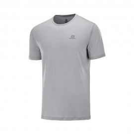 Salomon T-Shirt Trail Running Agile Grigio Uomo