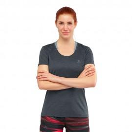 Salomon T-Shirt Trail Running Nero Donna