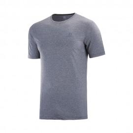 Salomon T-Shirt Trail Running Agile Blu Uomo