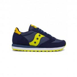 Saucony Sneakers Jazz Original Blu Giallo Bambino