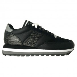Saucony Sneakers Jazz Triple Snakesin Nero Donna