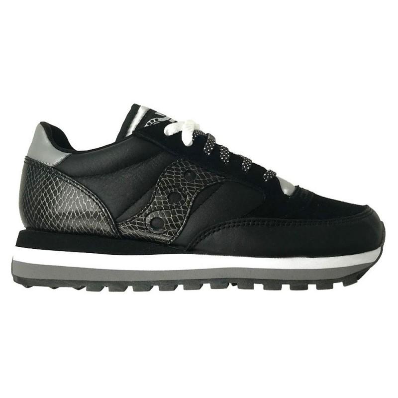 Saucony Sneakers Jazz Triple Snakesin Nero Donna