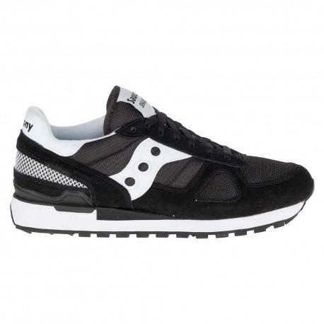 Saucony Sneakers Shadow O Vintage Nero Bianco Uomo