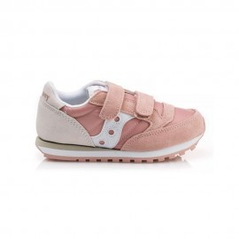 Saucony Sneakers Jazz Double Hl Psv Rosa Bianco Bambina