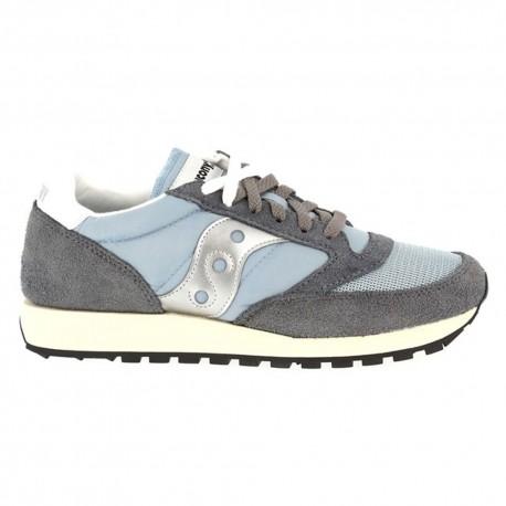 Saucony Sneakers Jazz O Vintage Grigio Uomo