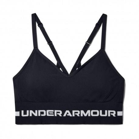 Under Armour Reggiseno Sportivo Seamless Nero Donna