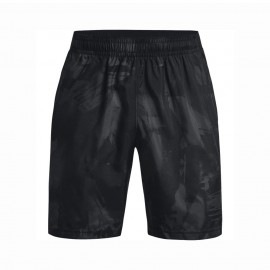 Under Armour Shorts Sportivi Camou Wovent Nero Uomo