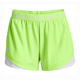 Under Armour Shorts Sportivi Play Up Lime Donna