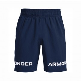 Under Armour Shorts Sportivi Logo Blu Uomo
