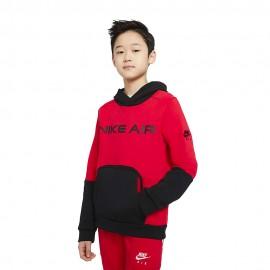 Nike Felpa Nike Air Rosso Bambino