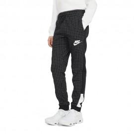 Nike Pantaloni Con Polsino Rtl Pack Nero Bambino