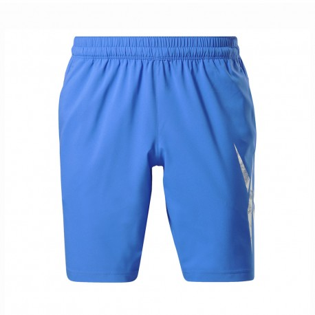 Reebok Shorts Sportivi Azzurro Uomo