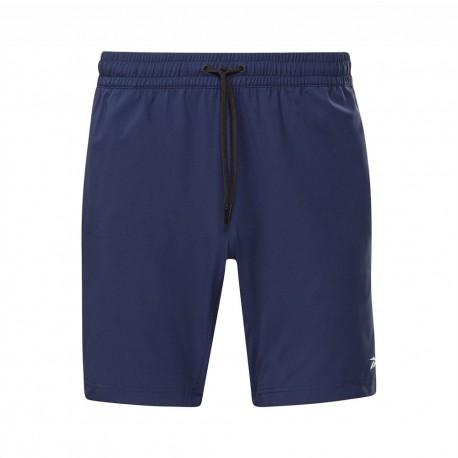 Reebok Shorts Sportivi Blu Uomo