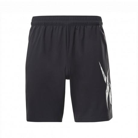 Reebok Shorts Sportivi Workout Nero Uomo