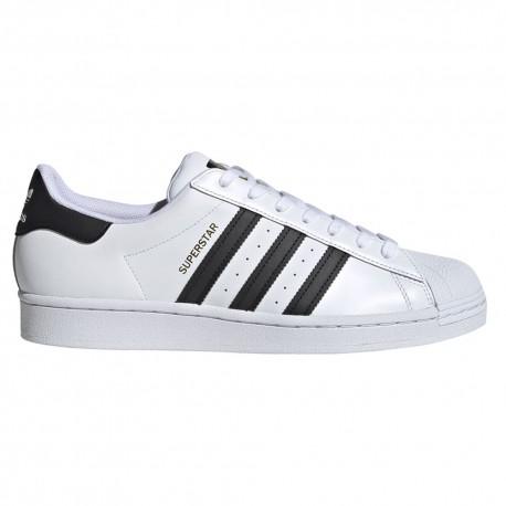 ADIDAS originals sneakers superstar bianco nero uomo