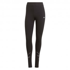 ADIDAS originals leggings logo nero donna