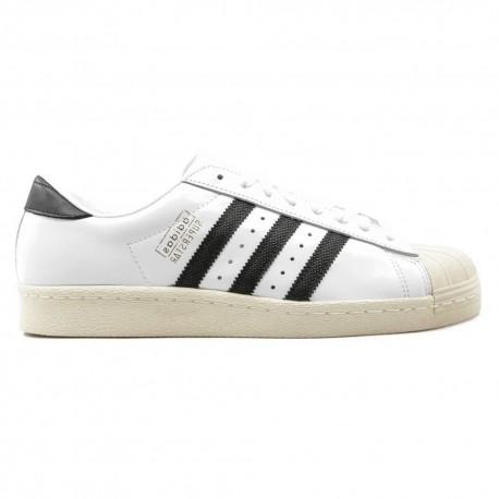 ADIDAS originals sneakers superstar bianco nero donna
