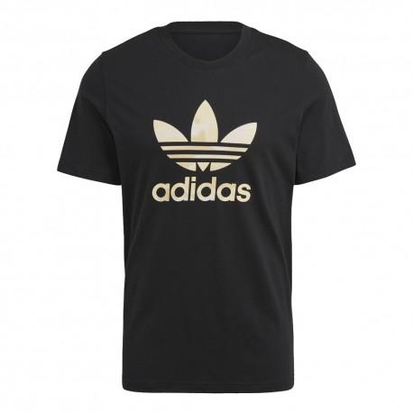 ADIDAS originals t-shirt logo nero uomo